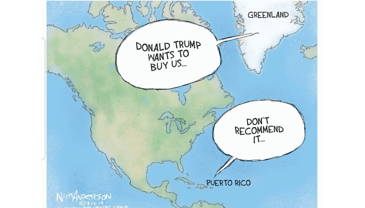 'Denmark offers to buy U.S.' The funniest responses to Trump's absurd offer to buy Greenland - Front Page Live