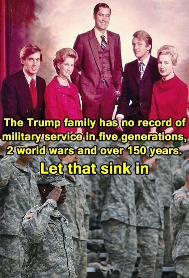 'Trump hates military families' is trending on social media. Here's why 1