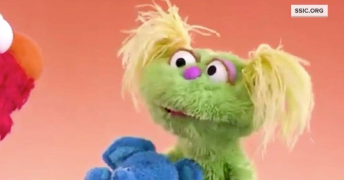 New Sesame Street muppet has a mother addicted to opioids