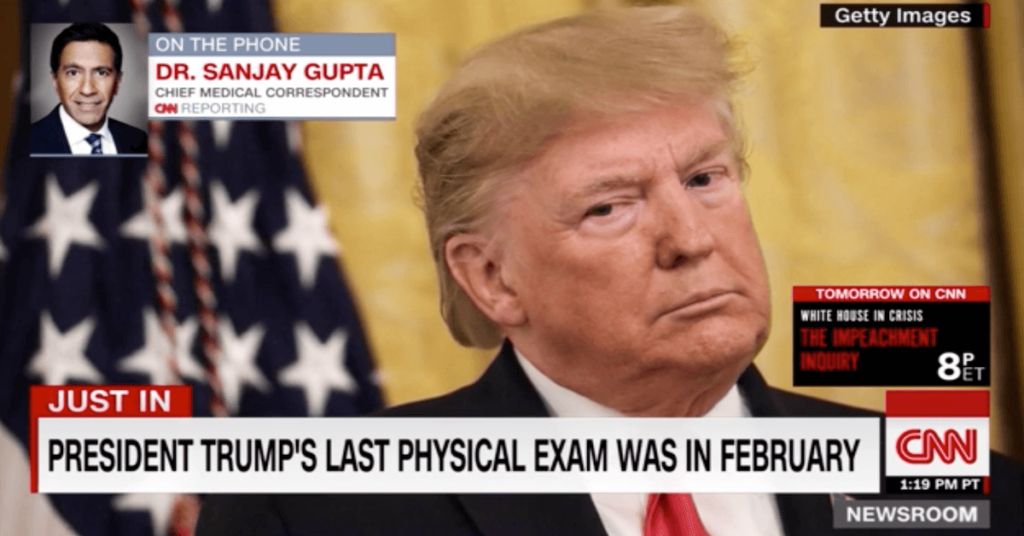Is Trump hiding a health scare? Dr. Sanjay Gupta asks why President was secretly rushed to Walter Reed
