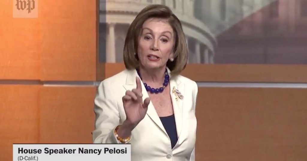 'Don't mess with me': Watch Pelosi clapback on ex-fox reporter who asked her ' do you hate the president?'