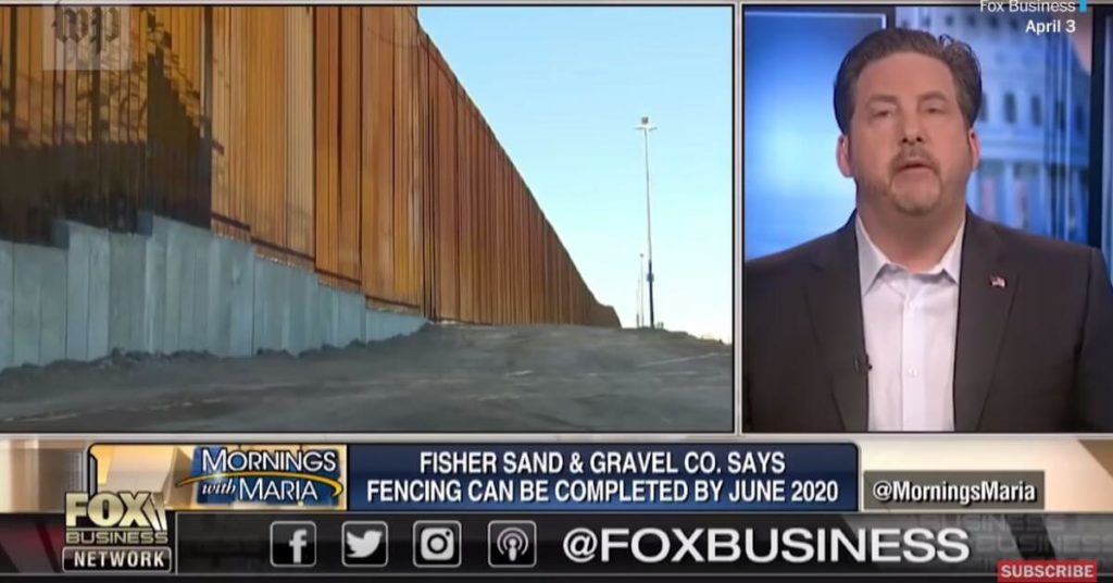Construction company rejected for not meeting standards gets $400m border wall contract after Trump endorsement