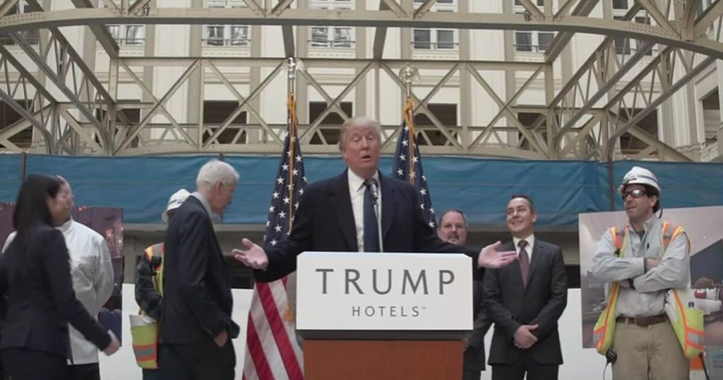 Trump Hotel uses fundraiser to pocket donor money as profit