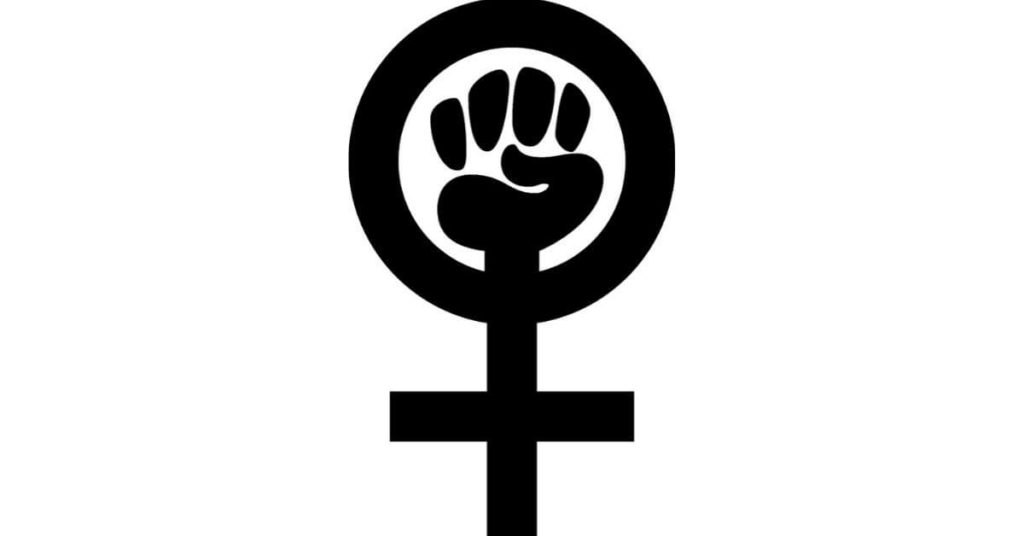A women's rights symbol.
