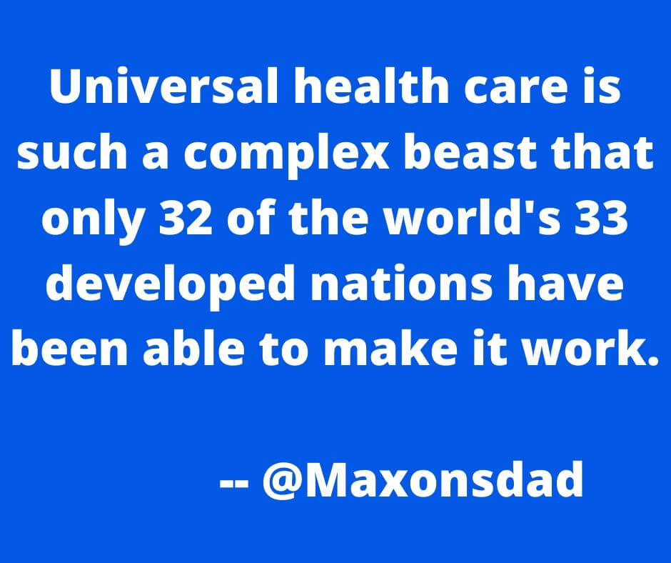 Not-So-Universal Health Care