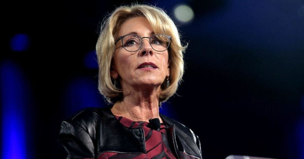 Facing $100,000 fine, Betsy Devos wipes out 1500 student loans — And 10 other shockers about Trump's Education Secretary 11