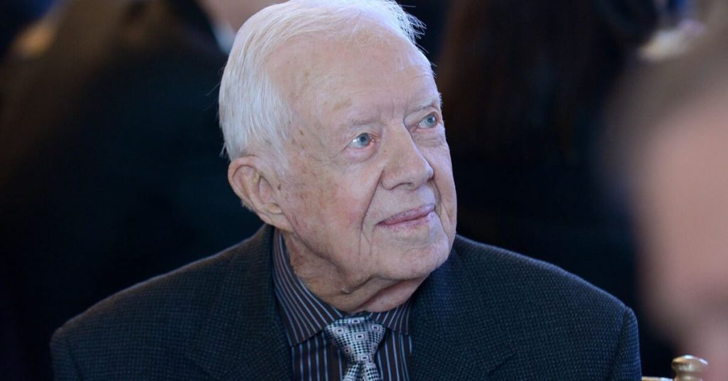 Jimmy Carter looking to the right