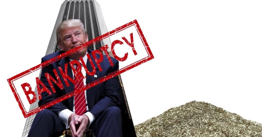 Trump has had 6 bankruptcies. Will America be number 7? 17
