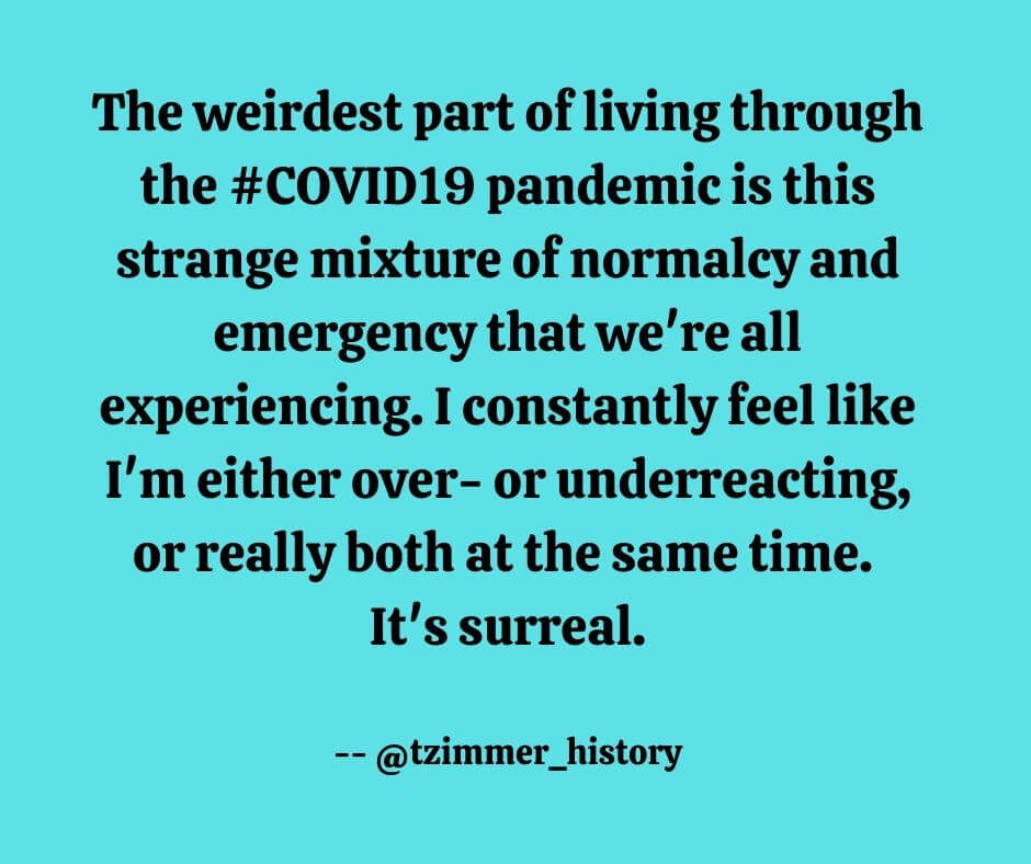Covid19- over or underreacting
