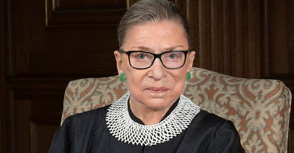 Photo of Justice Ginsberg
