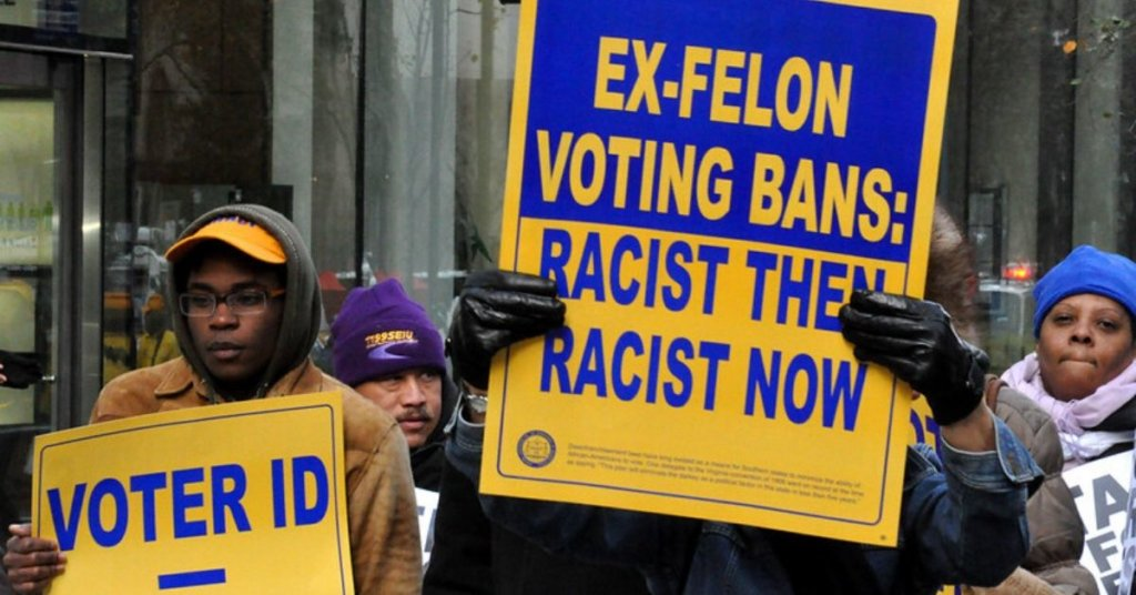 The GOP keeps trying to suppress the vote of ex-offenders. Here's how you can help fight back. 2