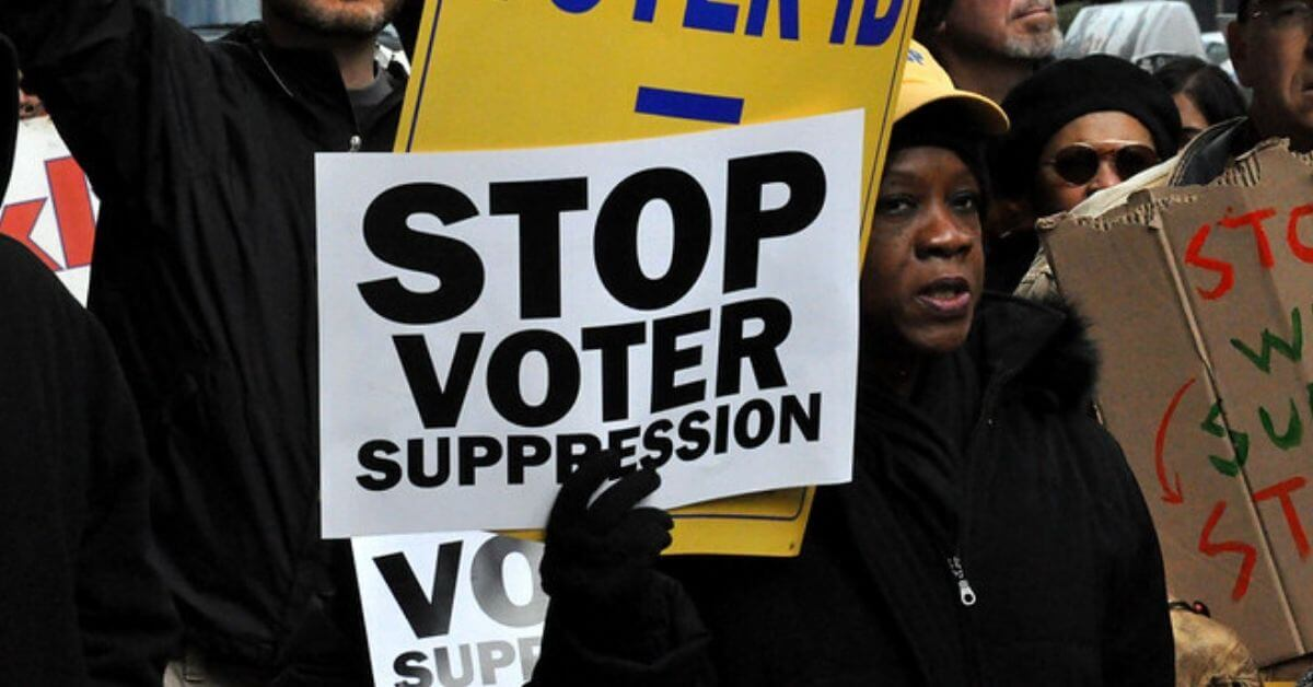 'Enemies of Democracy': GOP is trying to suppress the vote ...