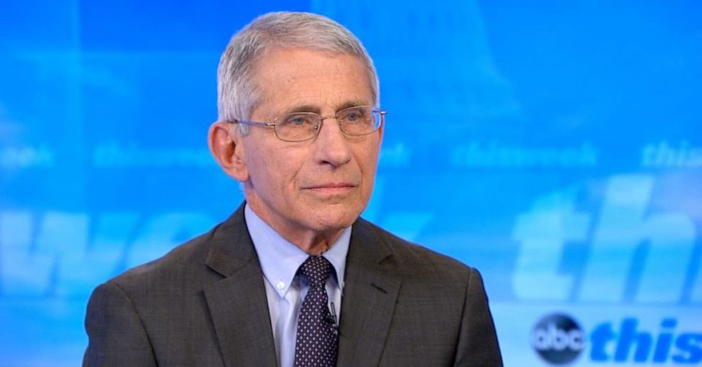 Dr. Anthony Fauci discusses coronavirus and vaccines.