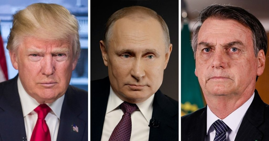 Trump, Putin and Bolsonaro - Three shining examples of how NOT to handle a pandemic 2