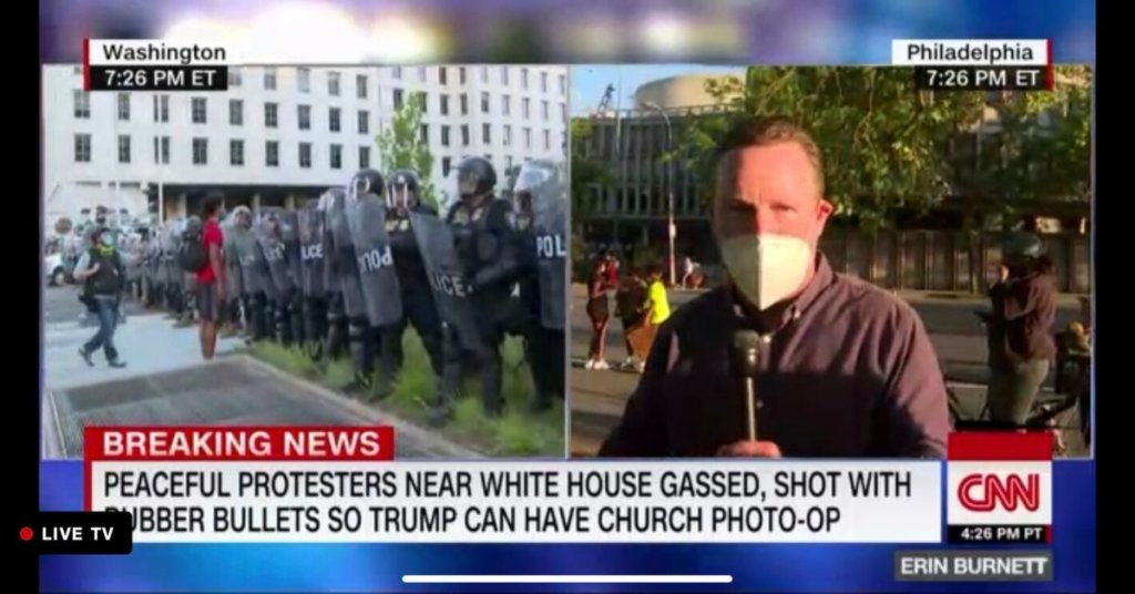 'Antithetical to the teachings of Jesus': DC bishop slams Trump using military force to stage photo-op at church