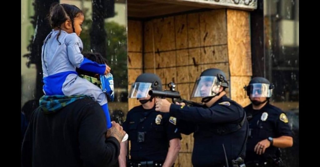 Twitter #Bluefall proves we need police reform — in one video of police brutality against activists after another, after another...