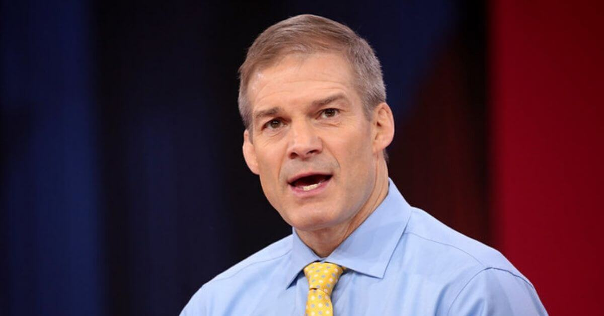 Jim Jordan with his mouth hanging open