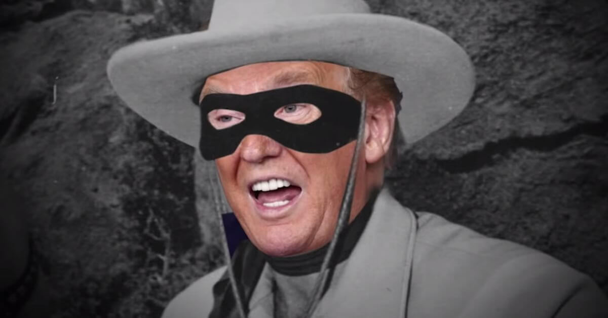 DOnald Trump may need a disguise to escape his part in the Capitol mob.