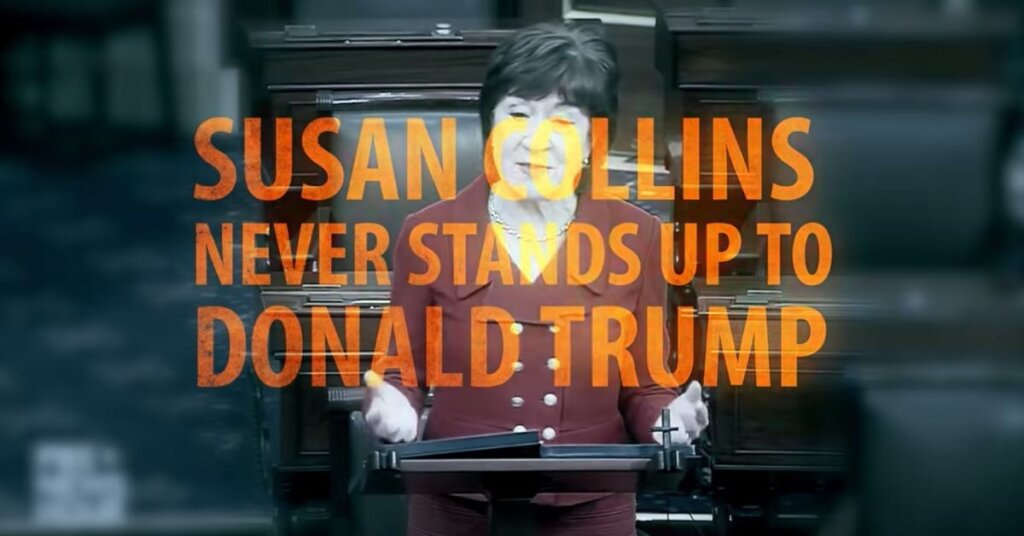 'Trump Stooge' Susan Collins is the worst. And it is time for her to go.