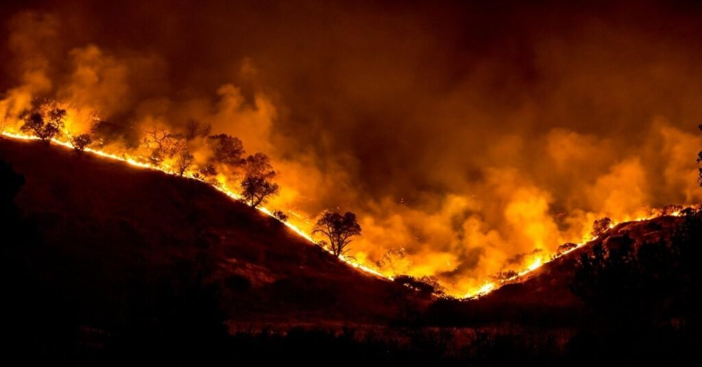Wildfire California