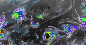 Hurricane Teddy rapidly strengthens to category 4 on collision course with Bermuda