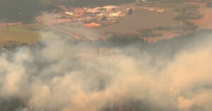 Oregon slammed by wildfires so dangerous, even firefighters were forced to evacuate