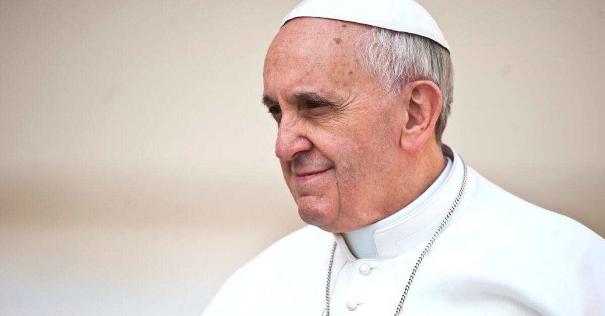 Pope Francis in profile