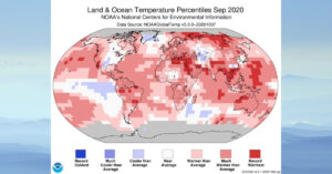 This September was the hottest September ever recorded as 2020 set to be the hottest year yet