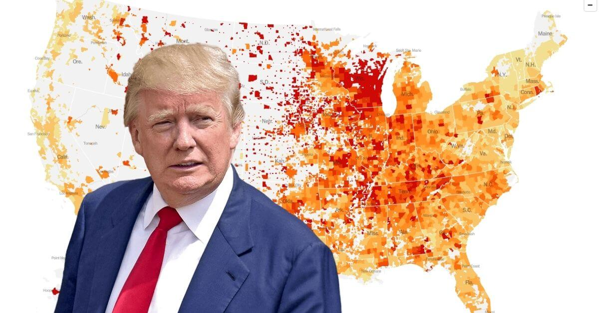 Delusional president celebrates 'end of pandemic' while a thousand Americans die daily