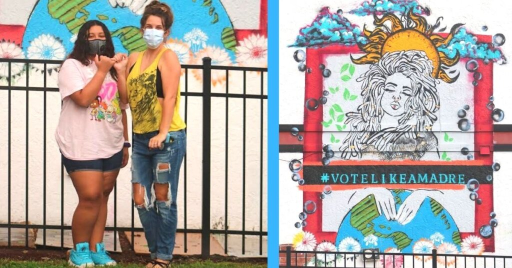 Vote Like A Madre movement inspires a day of activism and an Orlando mural from the Alianza Center