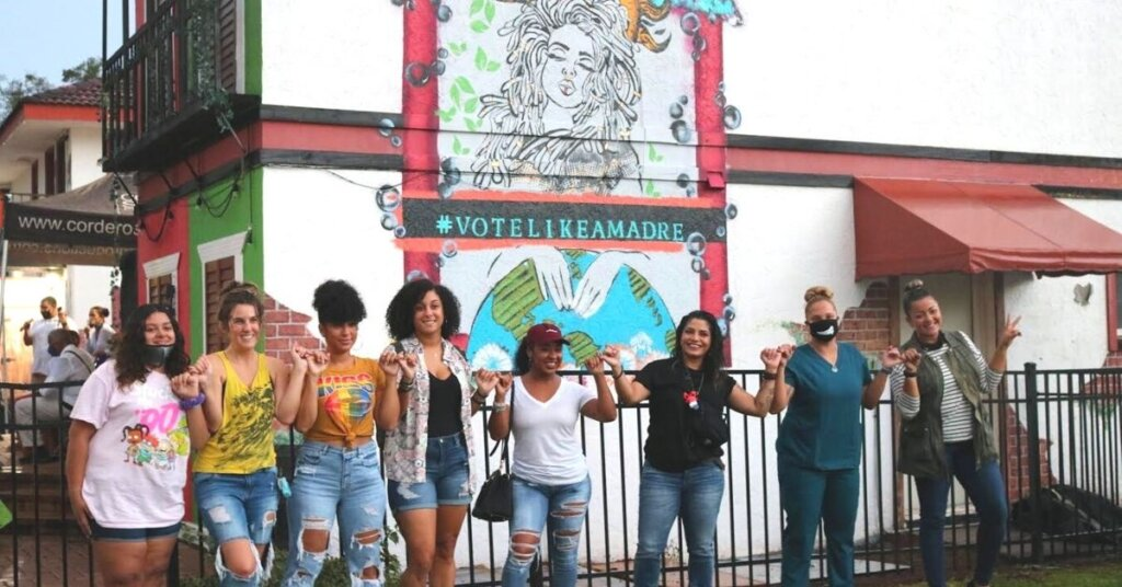 Vote Like A Madre movement inspires a day of activism and an Orlando mural from the Alianza Center 1