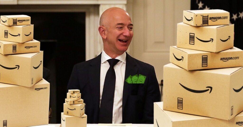 World's richest man wants workers to speed it up so Amazon can make another ten billion or so over the holidays.