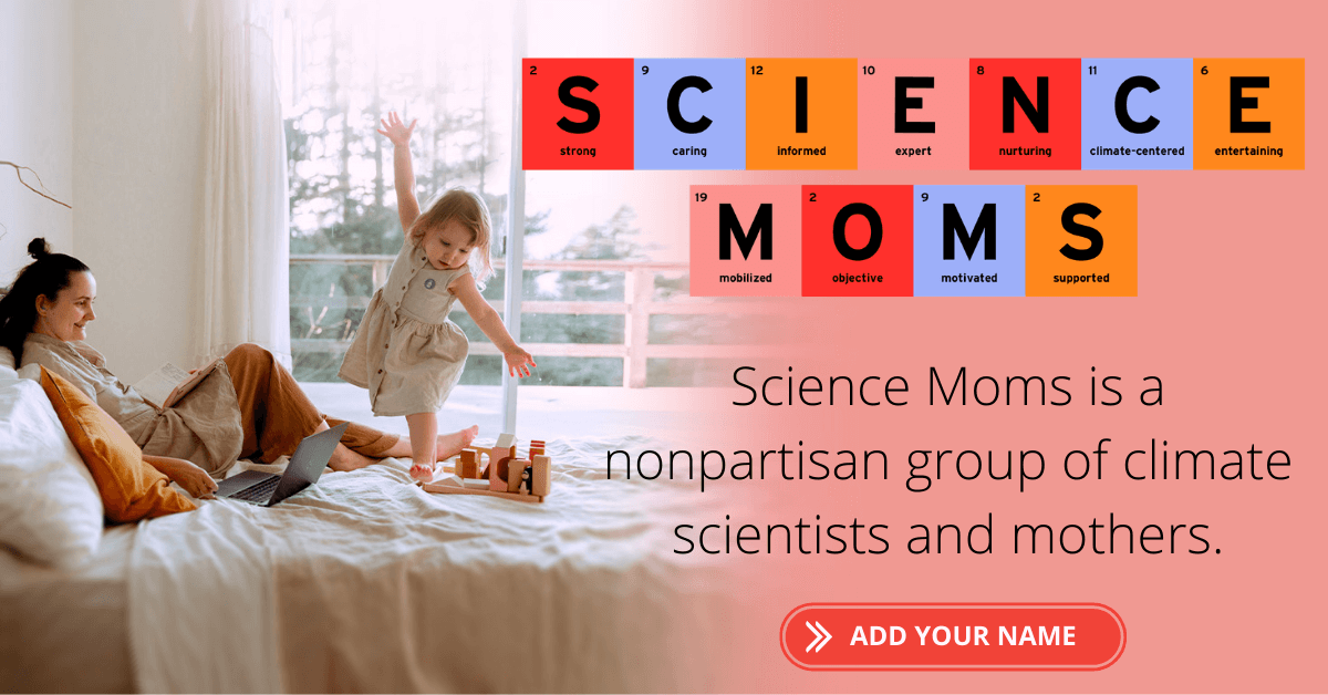 science moms climate change