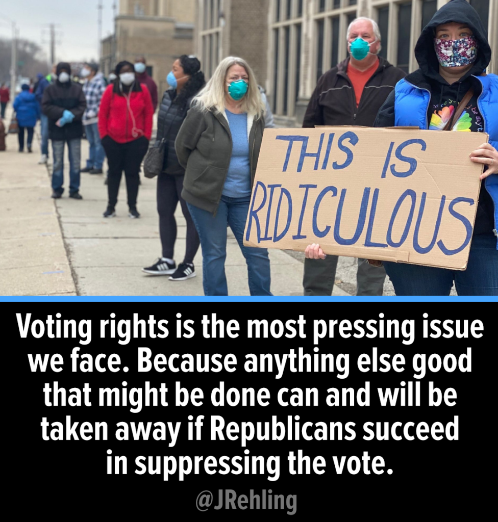 Don't let them take away our vote