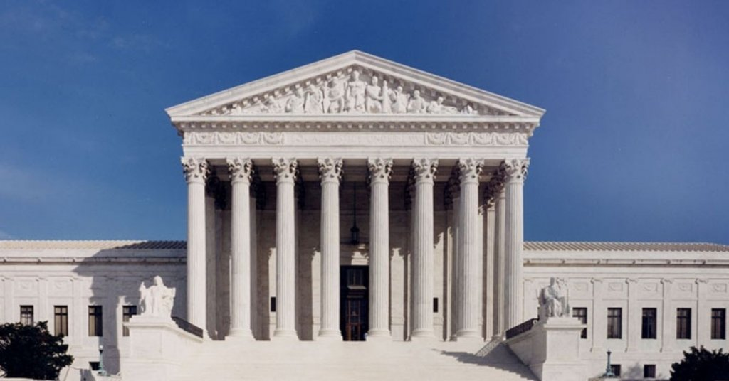 The exterior of the Supreme Court