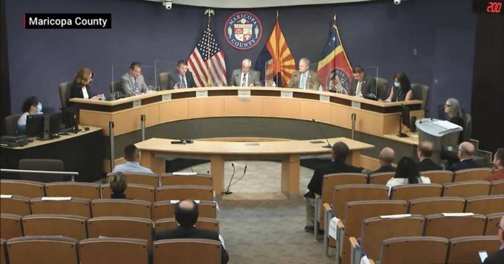 Maricopa county government meeting